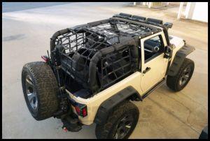 Rugged Ridge Cargo Net For 2007-18 Jeep Wrangler JK 2 Door Models 13552.70