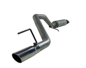 MBRP Installer Series Aluminized Cat Back Exhaust System For 2005-08 Jeep Grand Cherokee WK With 4.7L V8 & 5.7L V8 Engines S5508AL
