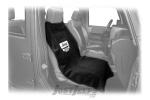 INSYNC Seat Towel Cover Featuring Jeep Grille Logo In Black SA100JEPGB