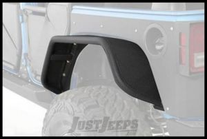 SmittyBilt XRC Flux Rear Fender Flare SetFor 2007-18 Jeep Wrangler JK 2 Door & Unlimited 4 Door Models 76839