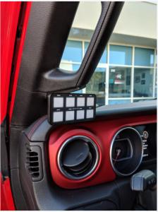 Switch-Pros Mounting Kit For 2018+ Jeep Gladiator JT & Wrangler JL 2 Door & Unlimited 4 Door Models SPJL