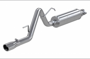 MBRP XP Series T-409 Stainless Steel Cat Back Exhaust System For 2002-07 Jeep Liberty KJ S5510409