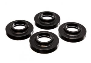 "Energy Suspension Coil Spring Lift Isolator .75"" Front or Rear Black For TJ 97-06 XJ 84-01 ZJ 93-98 2.6103G"
