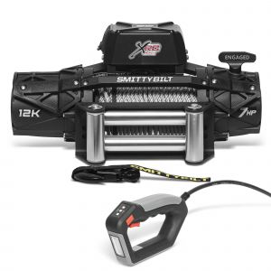 Smittybilt XRC GEN3 12000 lbs Winch with Steel Cable & Roller Fairlead 97612