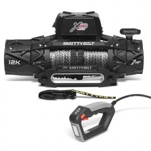 Smittybilt XRC GEN3 12000 lbs Winch Competition Style with Synthetic Rope & Hawse Fairlead 98612