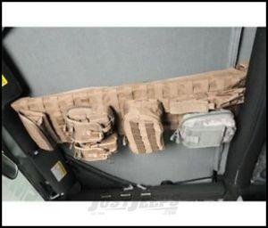SmittyBilt GEAR Overhead Console In Tan For 1997-06 Jeep Wrangler TJ & TLJ Unlimited Models 5665024