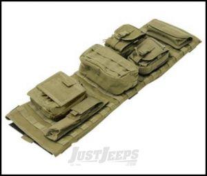 SmittyBilt GEAR Overhead Console In Olive Drab For 2007-18 Jeep Wrangler JK 2 Door & Unlimited 4 Door Models 5666031