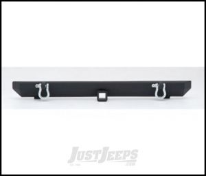 SmittyBilt SRC Classic Style Rear Bumper With D-Rings In Black Textured For 1987-06 Jeep Wrangler YJ & TJ Models 76750D