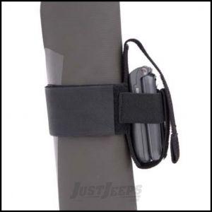 SmittyBilt Cell Phone & CB Holder In Black 769510