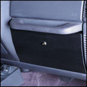 SmittyBilt Vaulted Glove Box In Black For 1997-06 Jeep Wrangler TJ & Wrangler Unlimited 812201