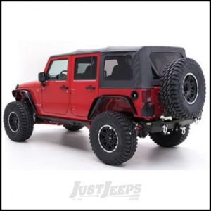 SmittyBilt OE Style Replacement Top Skin With Tinted Windows In Black Diamond For 2010-18 Jeep Wrangler JK Unlimited 4 Door Models 9085235
