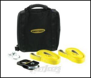 SmittyBilt XRC3.0 Compact 3000lbs Winch & ATV Winch Accessory Kit Special ATVBAG1