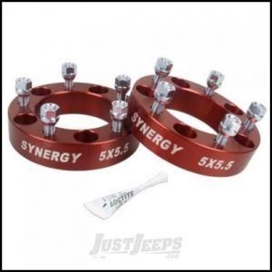 "Synergy MFG Hub Centric Wheel Spacers 1.5"" 5 X 4.5 Bolt Pattern For XJ, YJ, TJ, ZJ, KJ & KK 4112-5-45-H"