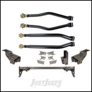 Synergy MFG Rear Stretch Complete Suspension System without Lower Shock Mounts For 2007-18 Jeep Wrangler JK 2 Door Models 8034