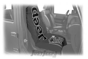 INSYNC Seat Towel Cover Featuring Jeep Wrangler Logo With Optional Colors T2G100-