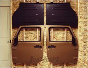 TeraFlex Freedom Top Holder And Full Door Hanger For 2007-18 Jeep Wrangler JK 2 Door & Unlimited 4 Door Models 1830702