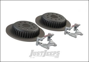TeraFlex Performance Rear Big Rotor Kit For 2007-18 Jeep Wrangler JK 2 Door & Unlimited 4 Door Models 4304450