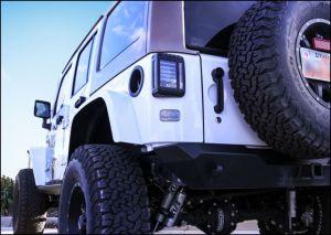 TeraFlex License Plate Delete Badge For 2007-18 Jeep Wrangler JK 2 Door & Unlimited 4 Door Models 4798000