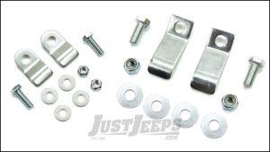 TeraFlex Front Lower / Rear Upper Coil Spring Retainer Kit For 2007-18 Jeep Wrangler JK 2 Door & Unlimited 4 Door Models 4951000