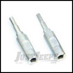 """TeraFlex Front Shock Extension For 2.5""""? Lifts Pair For 2007-18 Jeep Wrangler JK 2 Door & Unlimited 4 Door Models 1553800"""