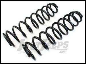 """TeraFlex 1.5 - 2.5"""" Lifted Front Coil Springs Pair For 2007-18 Jeep Wrangler JK 2 Door & Unlimited 4 Door 1853052"""