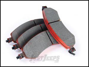 TeraFlex Front Big Brake Semi-Metallic Pads & Clips For 2007-18 Jeep Wrangler JK 2 Door & Unlimited 4 Door 4303430