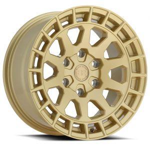 Black Rhino Boxer Wheel in Gold BOXERGL-