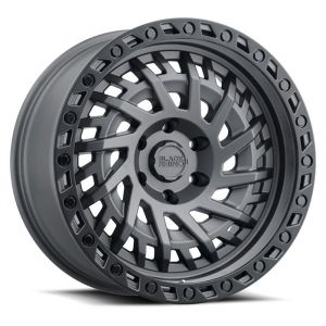 Black Rhino Shredder Wheel in Gunmetal for 07-21 Jeep Wrangler JL, JK & Gladiator JT SHREDDERG-