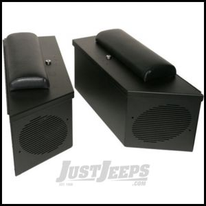 Tuffy Products Padded Cushion Set For Part TY-020 In Black For 1992-95 Jeep Wrangler YJ C020-01
