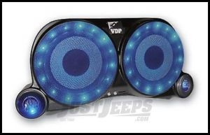 Vertically Driven Products Center Speaker System With Lights & Speakers For 1976-95 Jeep CJ Series & Wrangler YJ 54001