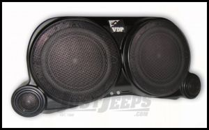 Vertically Driven Products Center Speaker System Without Lights With Speakers For 1976-95 Jeep CJ Series & Wrangler YJ 54101