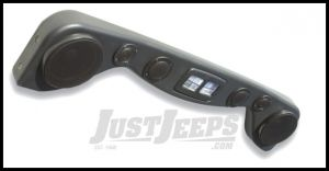 Vertically Driven Products Hi Fidelity 6 Speaker Overhead Soundbar In Textured Black For 1987-02 Jeep Wrangler YJ & TJ 792501
