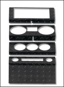 Warrior Products Dash Panel Overlay For 1987-95 Jeep Wrangler YJ 90424PC
