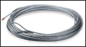 "WARN Replacment Wire Winch Rope 80', 5/16"" (24m, 8mm) 15276"