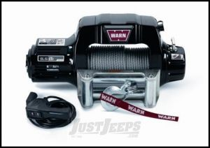 WARN 9.5cti Self-Recovery Winch (12V DC) 125' Wire Rope and Roller Fairlead 97550