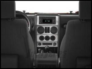 Warrior Products Dash Overlay For 2009-10 Jeep Wrangler JK Unlimited 4 Door Models 60406