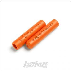 Welcome Distributing Dual Layer Rubber GraBar Grips Pair In Orange For All Welcome Distributing GraBars 1017O