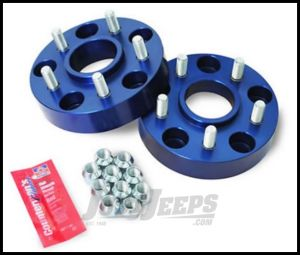 "SpiderTrax Wheel Adapter Kit 1.375"" From 5 X 5"" to 5 X 4.5"" Bolt Pattern For 2007-18 Jeep Wrangler JK, 2006-10 Commander XK & 1999-2010 Grand Cherokee WJ/WK Models WHS011"