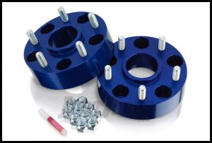 "SpiderTrax Wheel Spacer 1.75"" 5 X 5 Bolt Pattern For 2007-18 Jeep Wrangler JK, 2006-10 Commander & 1999-10 Grand Cherokee WJ/WK (Blue) WHS021"