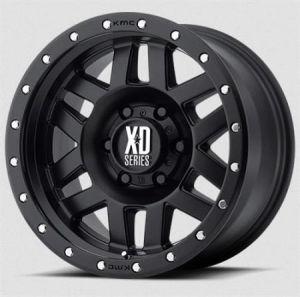KMC XD128 Machete Satin Black Wheel 17x9 5X5 w/4.50BS XD12879050712N