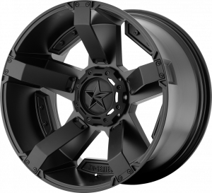 KMC XD811 Rockstar RS2 Matte Black Wheel 17x9 5X5 w/4.53BS XD81179050712N