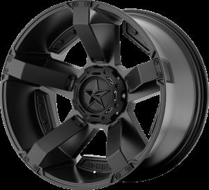 KMC XD811 Rockstar RS2 Matte Black Wheel 17x8.0 5X5 w/4.89BS XD81178050710