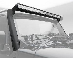 "ZROADZ 52"" LED Light Bar Mounting Kit For 2007-18 Jeep Wrangler JK 2 Door & Unlimited 4 Door Models Z374811"