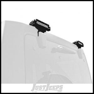 "ZROADZ Rear Window Hinge 6"" LED Light Mounting Kit For 2007-18 Jeep Wrangler JK 2 Door & Unlimited 4 Door Models Z394812"