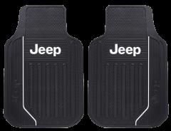 Plasticolor Jeep Logo Elite Series Front Floor Mats For Universal Application 001616R01