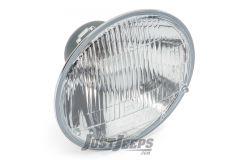 "HELLA Vision Plus 7"" Round HB2 Conversion Headlight For 1945-06 Jeep CJ Series, Wrangler TJ & TLJ Unlimited Models 002395301"