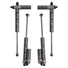 "TeraFlex Falcon Series 3.3 Fast Adjust Piggyback Shock Kit 2.5-3.5"" For 2007-18 Jeep Wrangler JK Unlimited 4 Door Models 03-01-33-400-253"