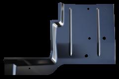 KeyParts Full Length Floor Pan, RH For 1976-83 Jeep CJ-5 Models 0479-234