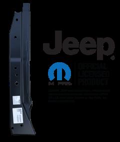 KeyParts A-Pillar Assembly LH For 76-95 Jeep CJ-7 & Wrangler YJ 0480-211