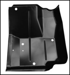 KeyParts Replacement Steel Floor Pan (Front Driver's-Side Under Feet) For 1976-95 Jeep CJ-7 and Jeep Wrangler YJ Models 0480-225L